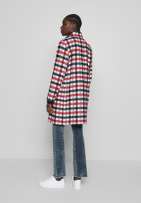 Banana Republic - TRIM PLAID COAT - Classic coat - snow day - 2