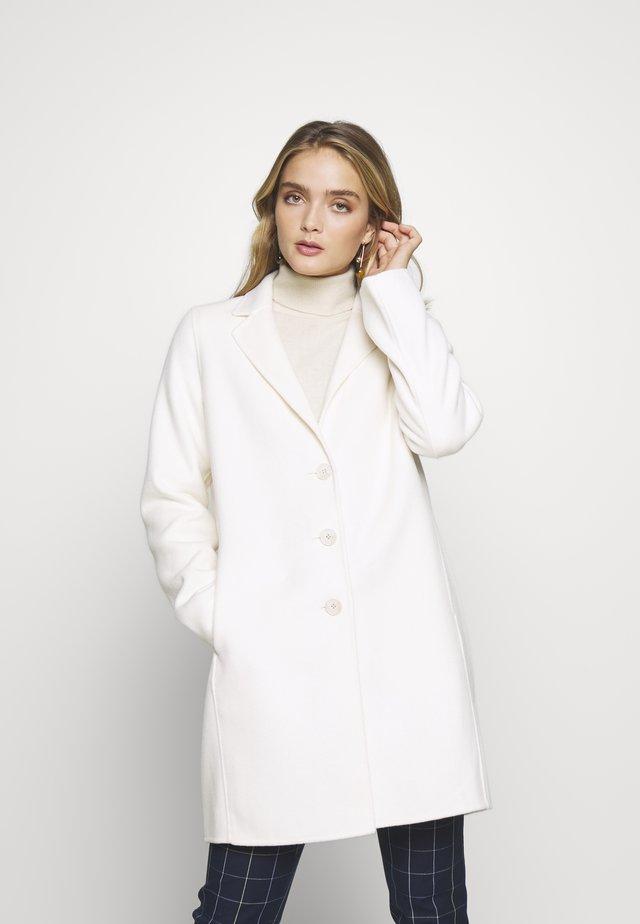 DOUBLE FACE COAT - Cappotto corto - cream
