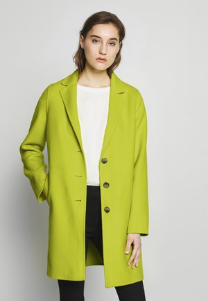 DOUBLE FACE COAT - Krátký kabát - neon yellow