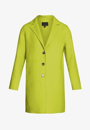 DOUBLE FACE COAT - Cappotto corto - neon yellow