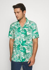Banana Republic - CAMP JUNGLE PRINT - Camicia - canopy green - 0