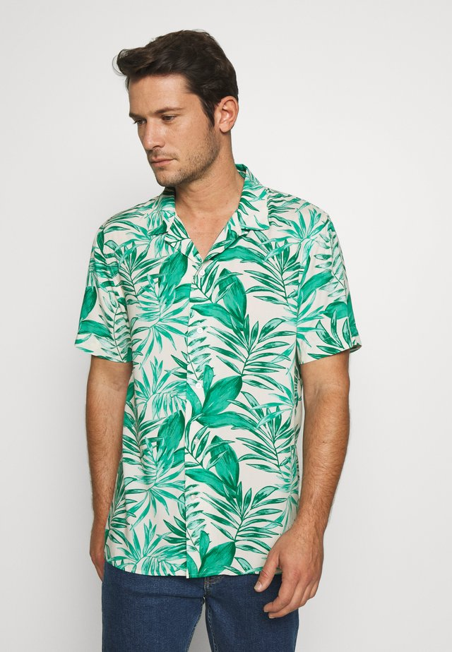 CAMP JUNGLE PRINT - Skjorter - canopy green