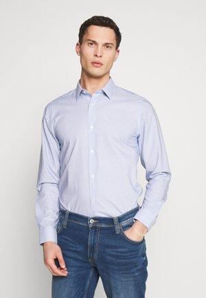 BROKEN STRIPE - Shirt - light blue