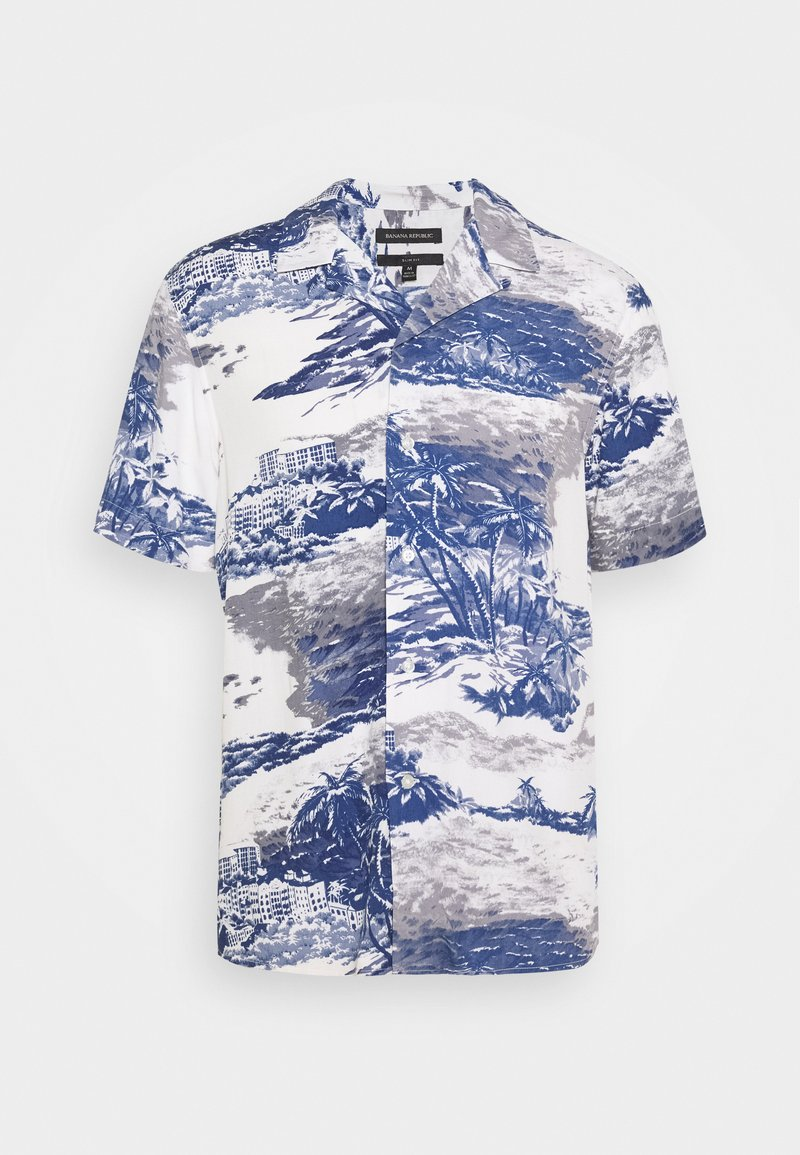 Banana Republic - RESORT  - Camicia - ocean beach blue