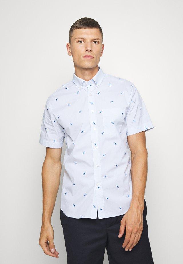 TECH TOUCAN PRINT - Skjorter - light blue