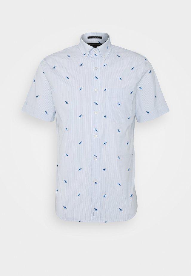 TECH TOUCAN PRINT - Camisa - light blue