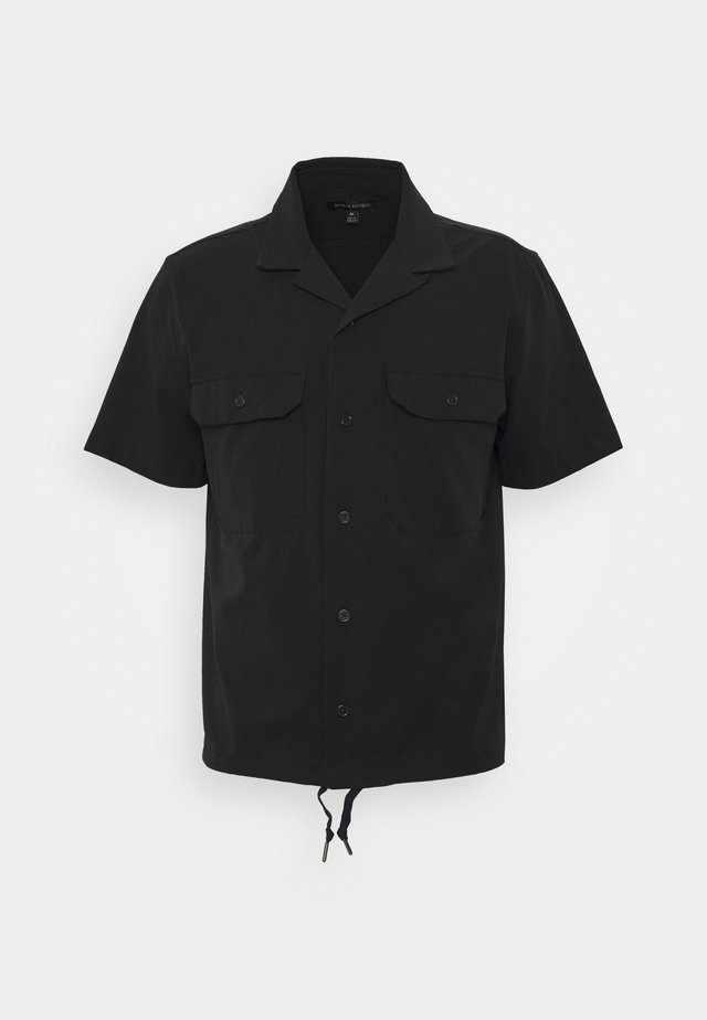 PERFORATED SOLID - Camisa - navy