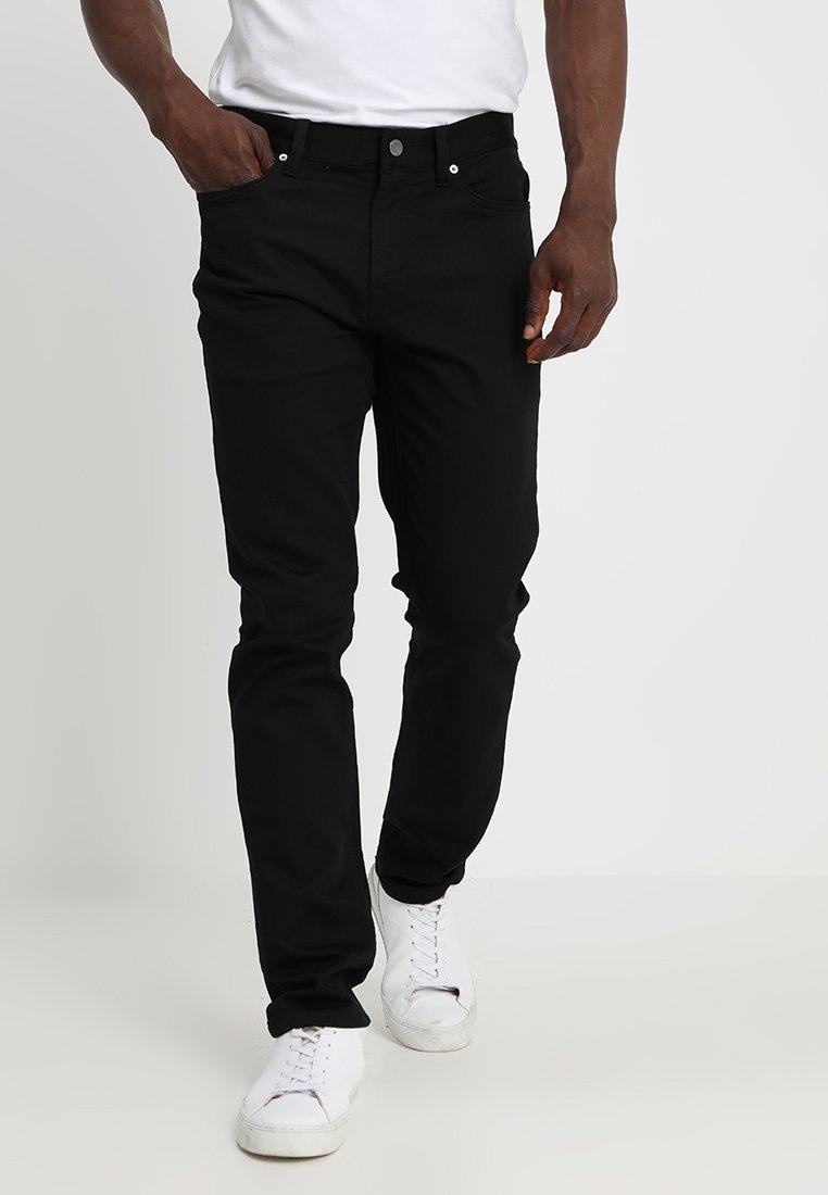 Banana Republic - SLIM TRAVELER PANT - Bukse - black