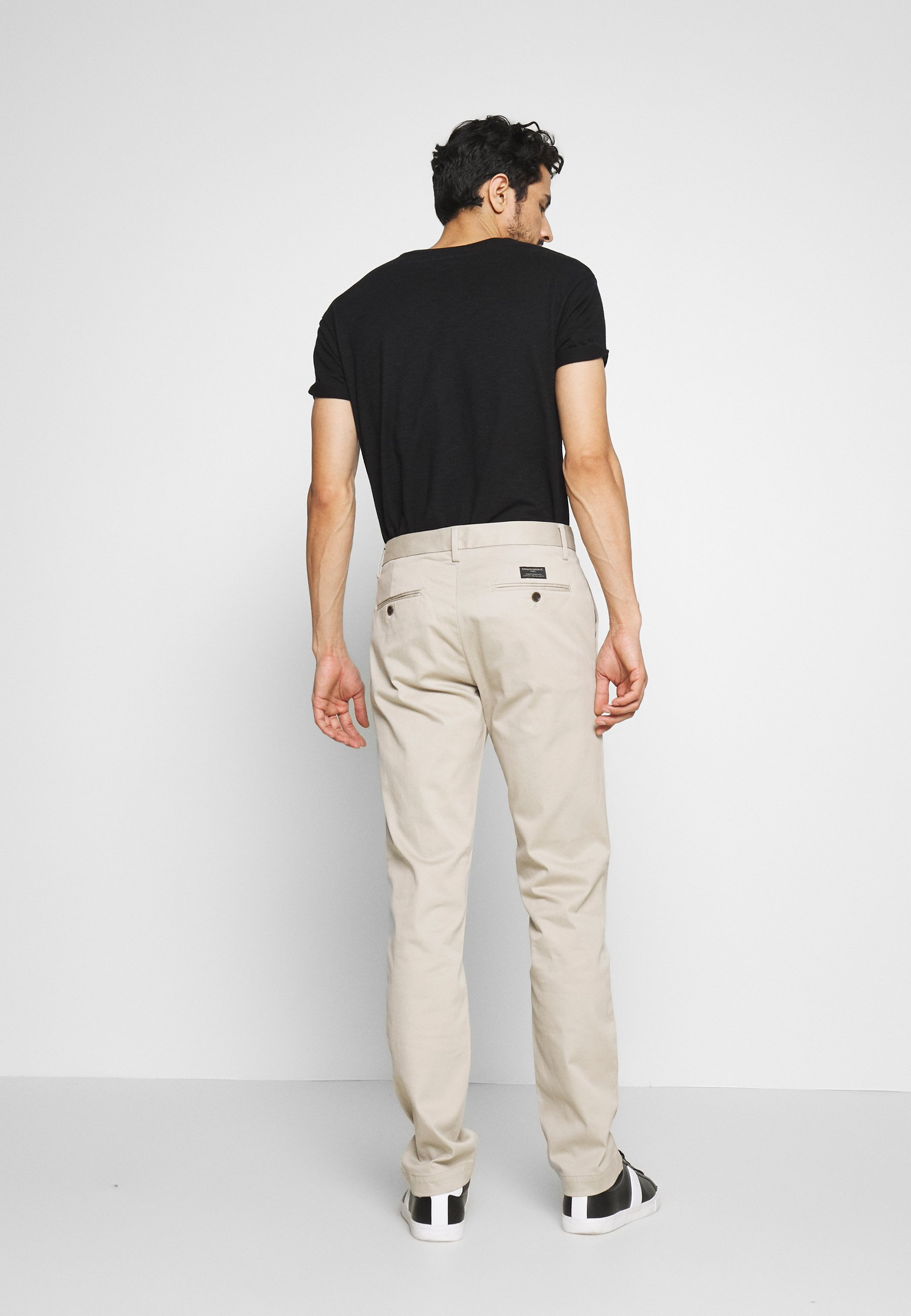 Banana Republic Fulton - Pantaloni Sandbar Beige unfiEm1