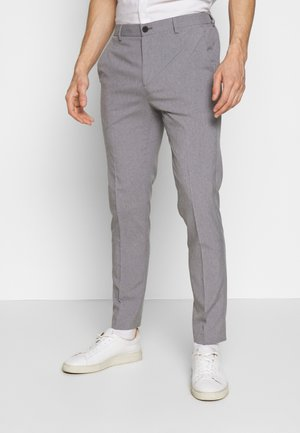 LIGHTWEIGHT WASHABLE TROUSER - Chinos - light grey/silver