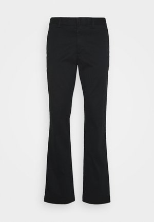 AIDEN - Trousers - black