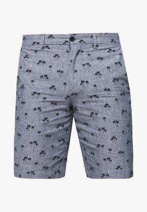 AIDEN PALM TREE PRINT - Shorts - navy print