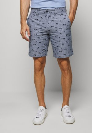 AIDEN PALM TREE PRINT - Shorts - navy print