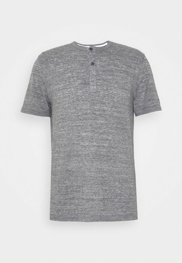 VINTAGE - Print T-shirt - grey blue