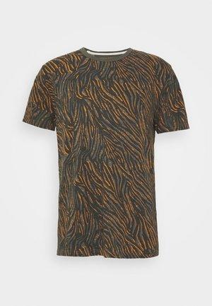 ZEBRA POP GRAPHIC TEE - T-shirt con stampa - grey slate