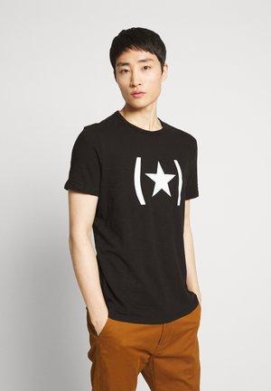 GRAPHIC TEE LOGO - Print T-shirt - black