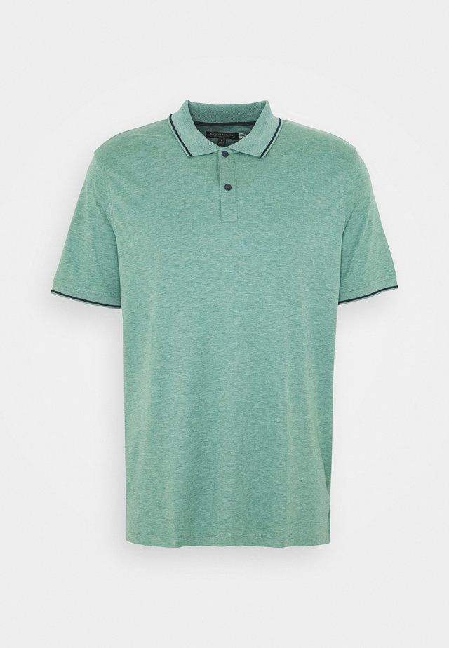 TEXTURE TIPPED - Polo - misty sage