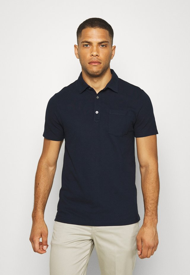 PERFORMANCE - Koszulka polo - preppy navy
