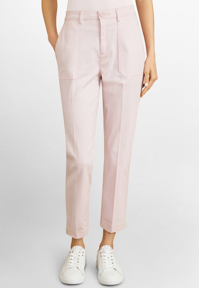 Trousers - light pastel pink