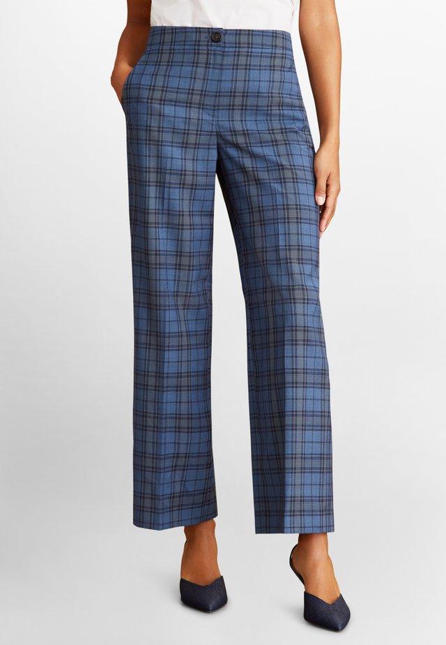 Trousers - open blue