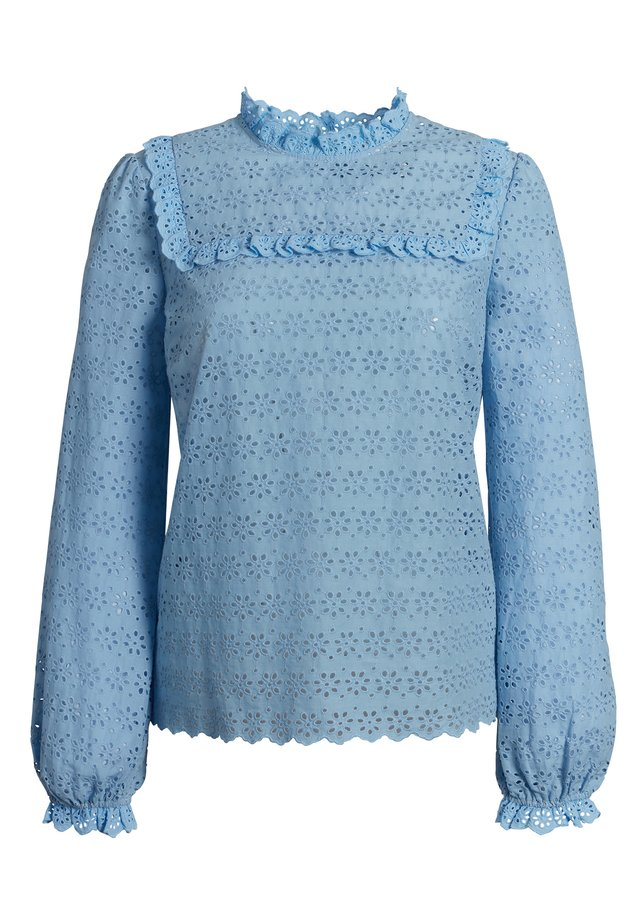 Blouse - light pastel blue