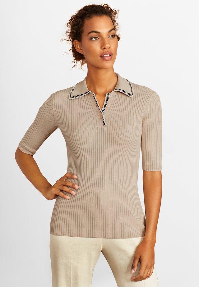 SANDSHELL - Polo shirt - light beige