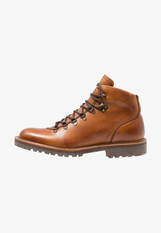 GLENCOE - Lace-up ankle boots - cedar