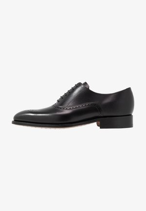 NEWCHURCH - Stringate eleganti - black