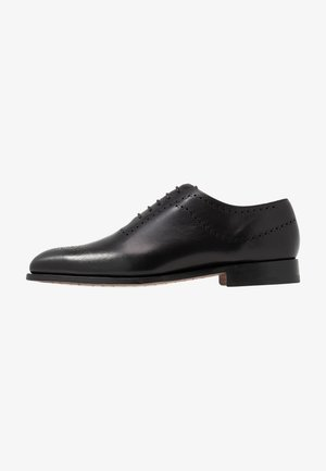 PLYMOUTH - Stringate eleganti - black
