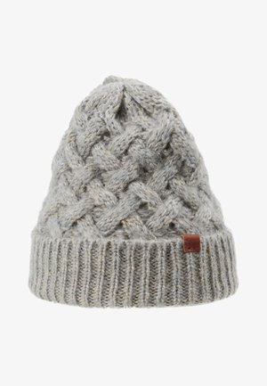 BEANIE - Bonnet - light grey/sand