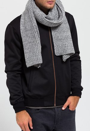 Scarf - grey twist