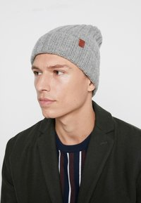 Bickley+Mitchell - BEANIE - Beanie - light grey - 1