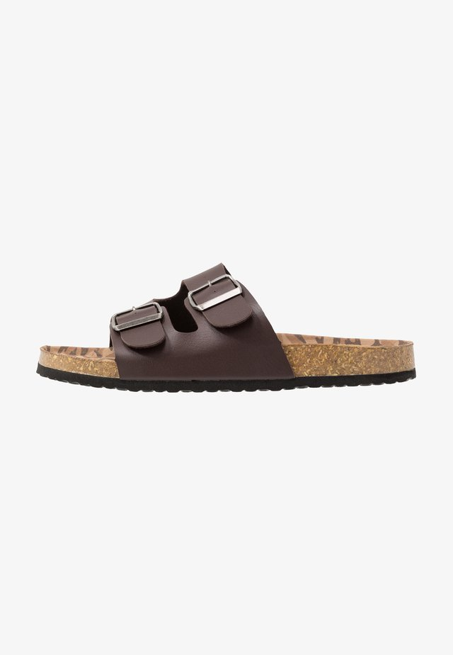 FOOTWEAR - Tøfler - coffee bean brown