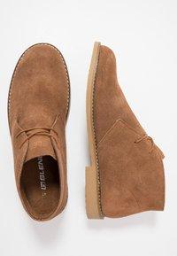 Blend - Zapatos con cordones - cognac - 1