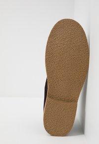 Blend - Volnočasové šněrovací boty - coffee bean brown - 4