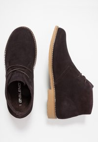 Blend - Volnočasové šněrovací boty - coffee bean brown - 1