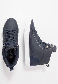 Blend - Sneakers hoog - dark navy - 1