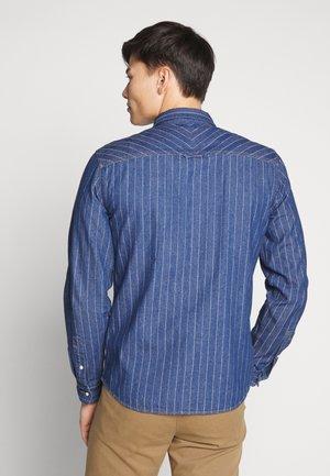 Košile - middle blue