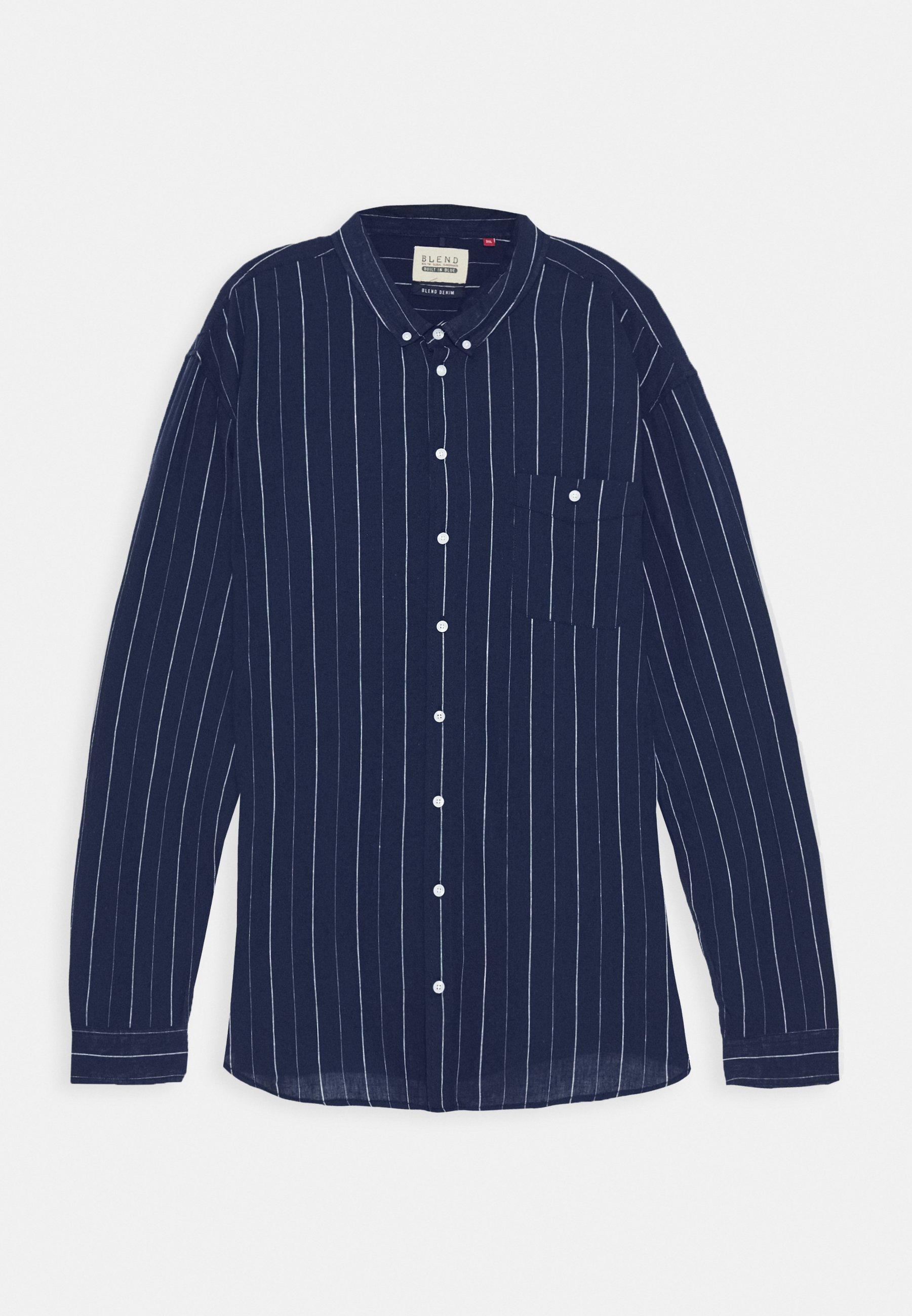 Blend Koszula - dark navy blue