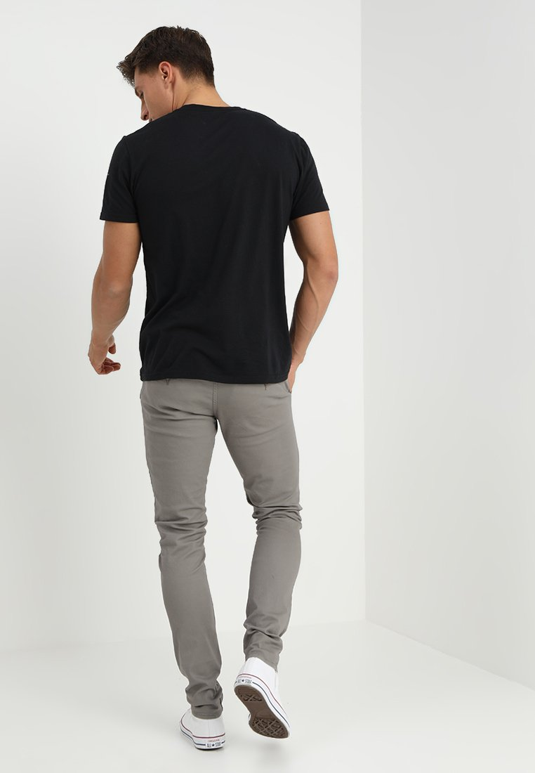 Blend SLIM FIT - Chinosy - granite