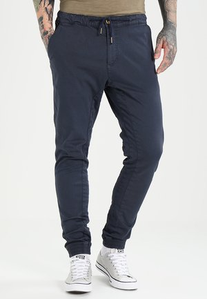 Trousers - mood indigo blue