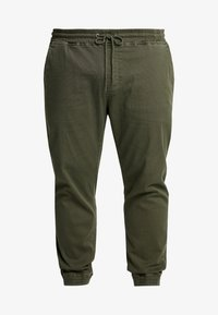 Blend - Trousers - olive night green - 4