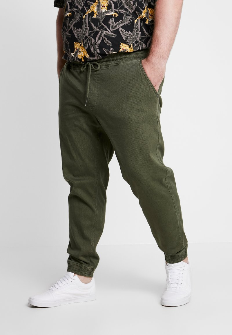 Blend - Trousers - olive night green