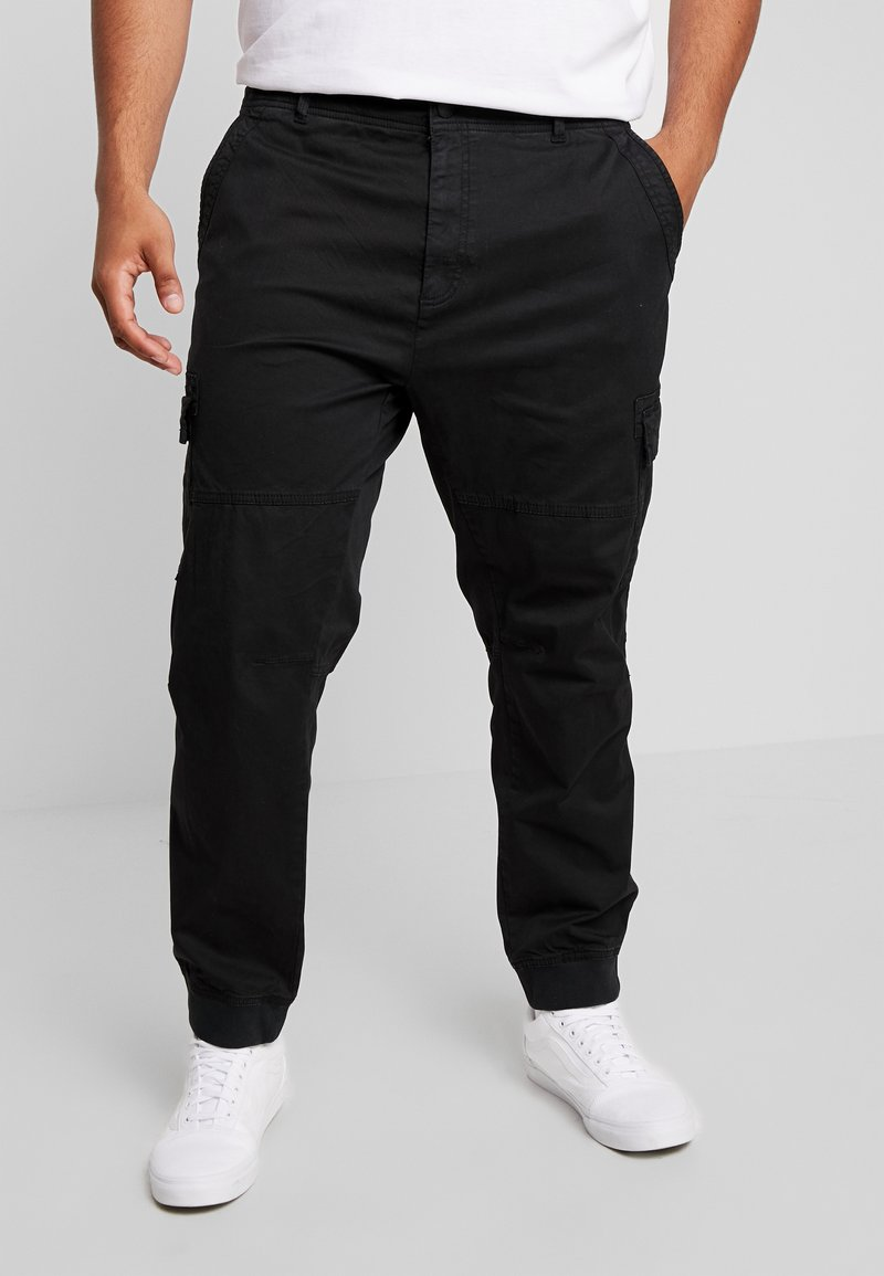 Blend - PANTS - Cargobukser - black