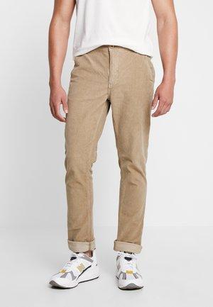 PANTS - Trousers - safari brown