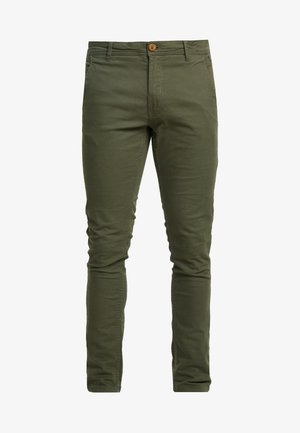 BHNATAN PANTS - Chino - olive night green