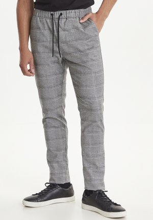 Trousers - mottled light grey