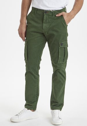 Cargo trousers - forest green