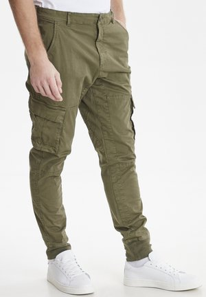 Pantalon cargo - beetle green