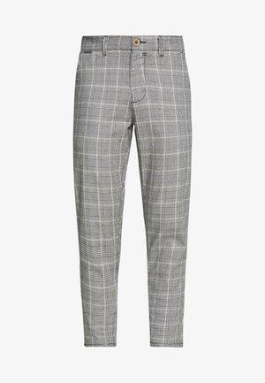 CHECK PANT - Pantaloni - grey